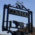 Cowfold sign square