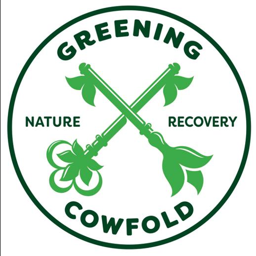 Greening Cowfold logo